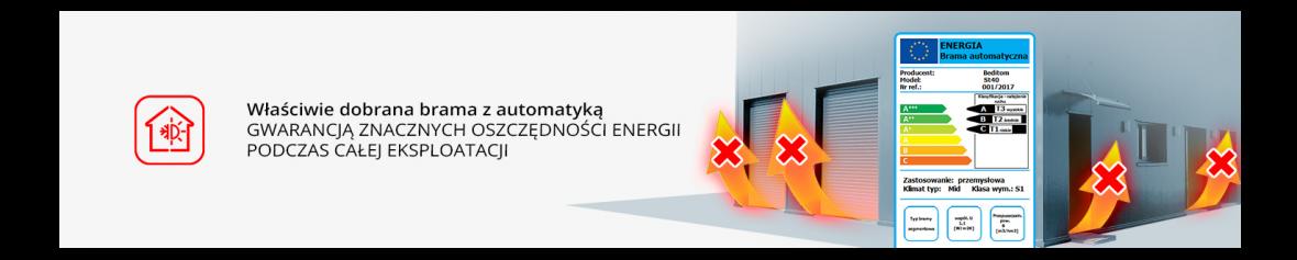 En korrekt utvald port med automatisering garanterar betydande energibesparingar under hela operationen.