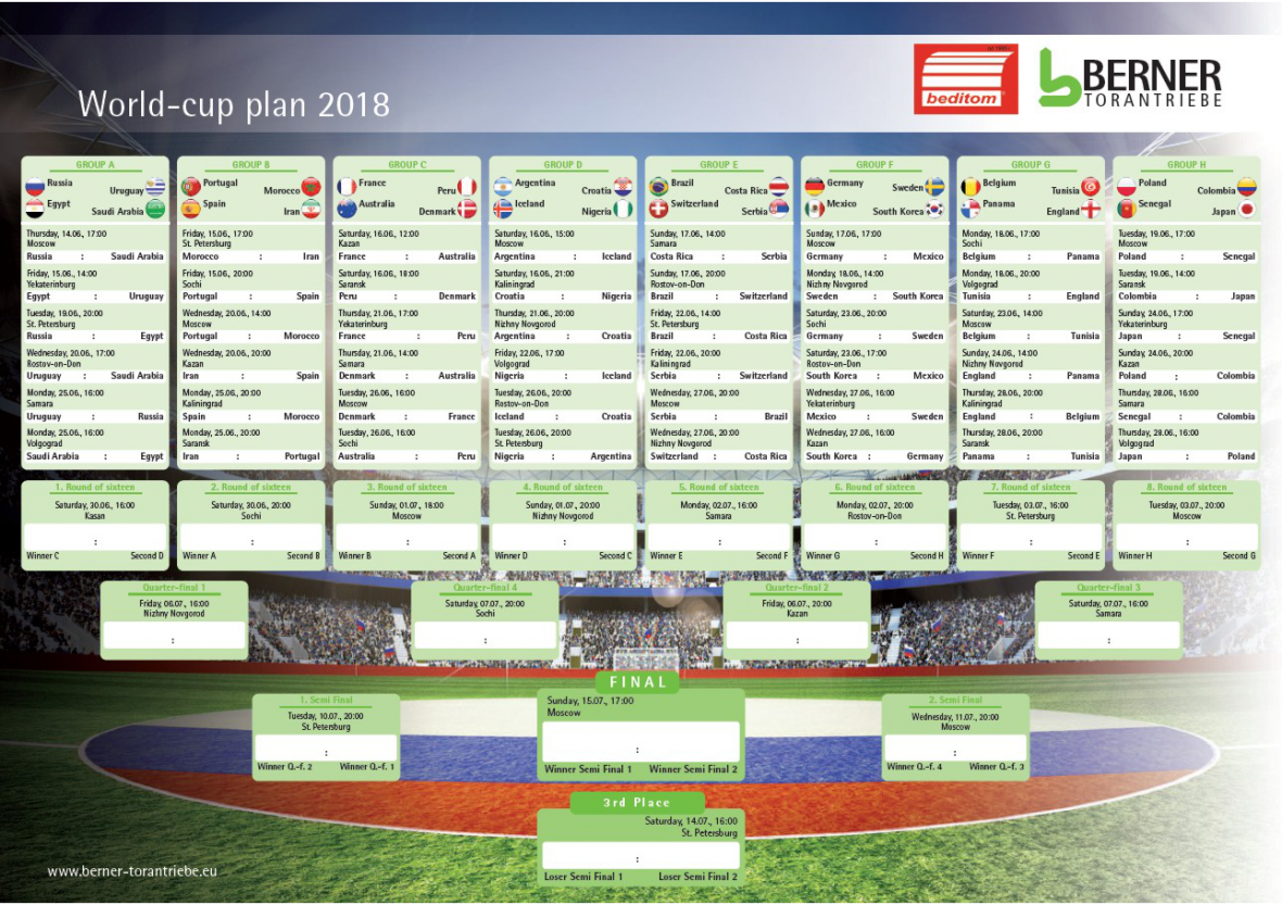 fifa world cup downloadable schedule